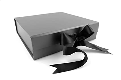 Sketchgroup Gift Box With Ribbon For Luxury Packaging Assortment Black Red Pink Charcoal Black