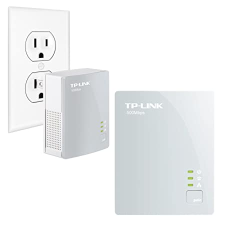 [Amazon Canada]TP-Link TL-PA4010KIT AV500 Nano Powerline Adapter Starter Kit - $30