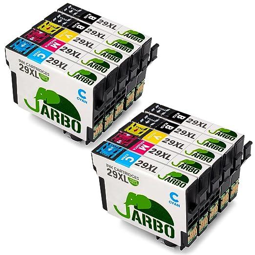 115 opinioni per JARBO Compatibile Epson 29 XL Cartucce d'inchiostro (4 Nero,2 Ciano,2 Magenta,2