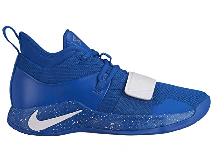 1b1cad14204d Image Unavailable. Image not available for. Color  Nike Men s PG 2.5 TB Basketball  Shoes (Game Royal White ...