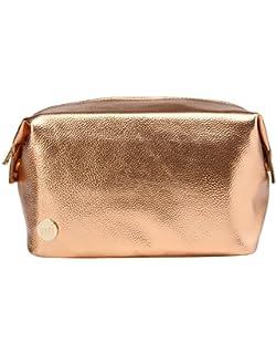 River Island Rose Gold Metallic Large Cosmetic Toiletry Bag  Amazon ... 8fc34b03fdc65