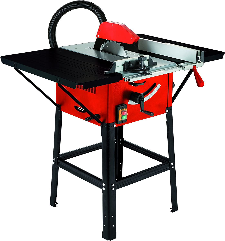 Cevik ce-cts250m Sierra de mesa, 1500 W, 230 V, rojo y negro ...