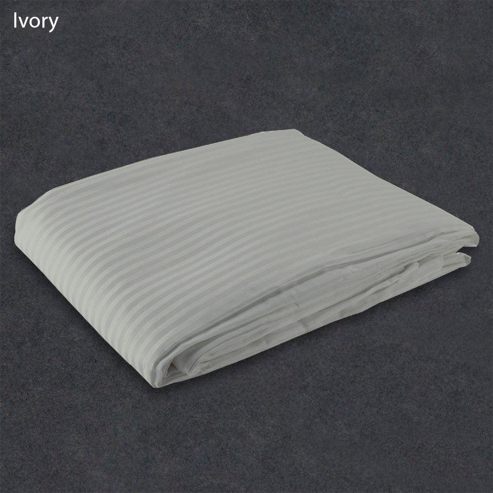 """1 PC Duvet Cover """"Ivory"""" Color 1000 TC Egyptian Cotton All Sizes Stripe (Queen/full)"""