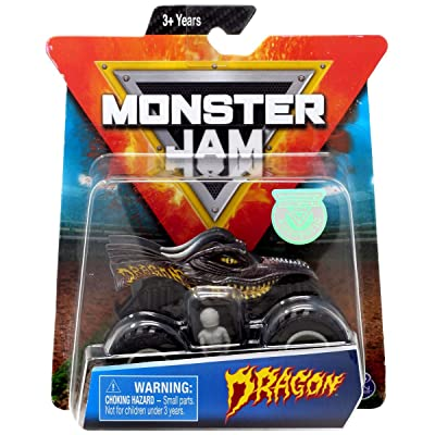 MJ Monster Jam Dragon 1:64 Scale: Toys & Games