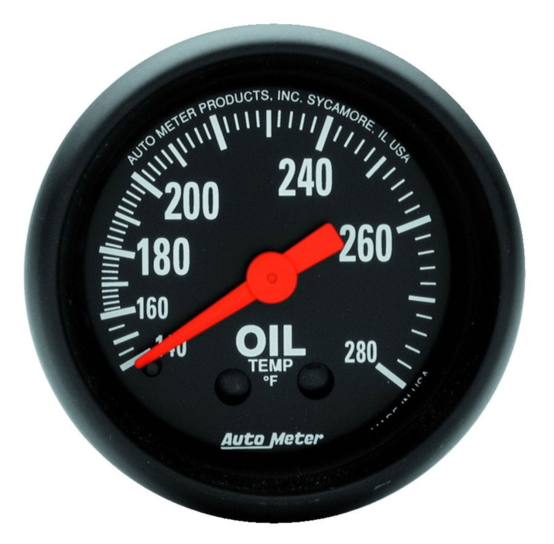 Auto Meter 2609 Z-Series Mechanical Oil Temperature Gauge by Auto Meter