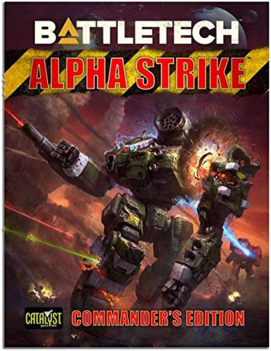 Battletech: Alpha Strike - Commanders Edition: Amazon.es: Juguetes y juegos