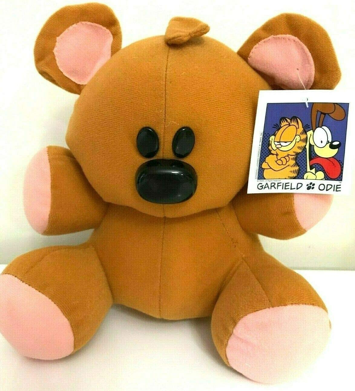 Amazon Com Pooky The Teddy Bear Plush Toy Garfield And Friends Stuffed Characters Toys Games