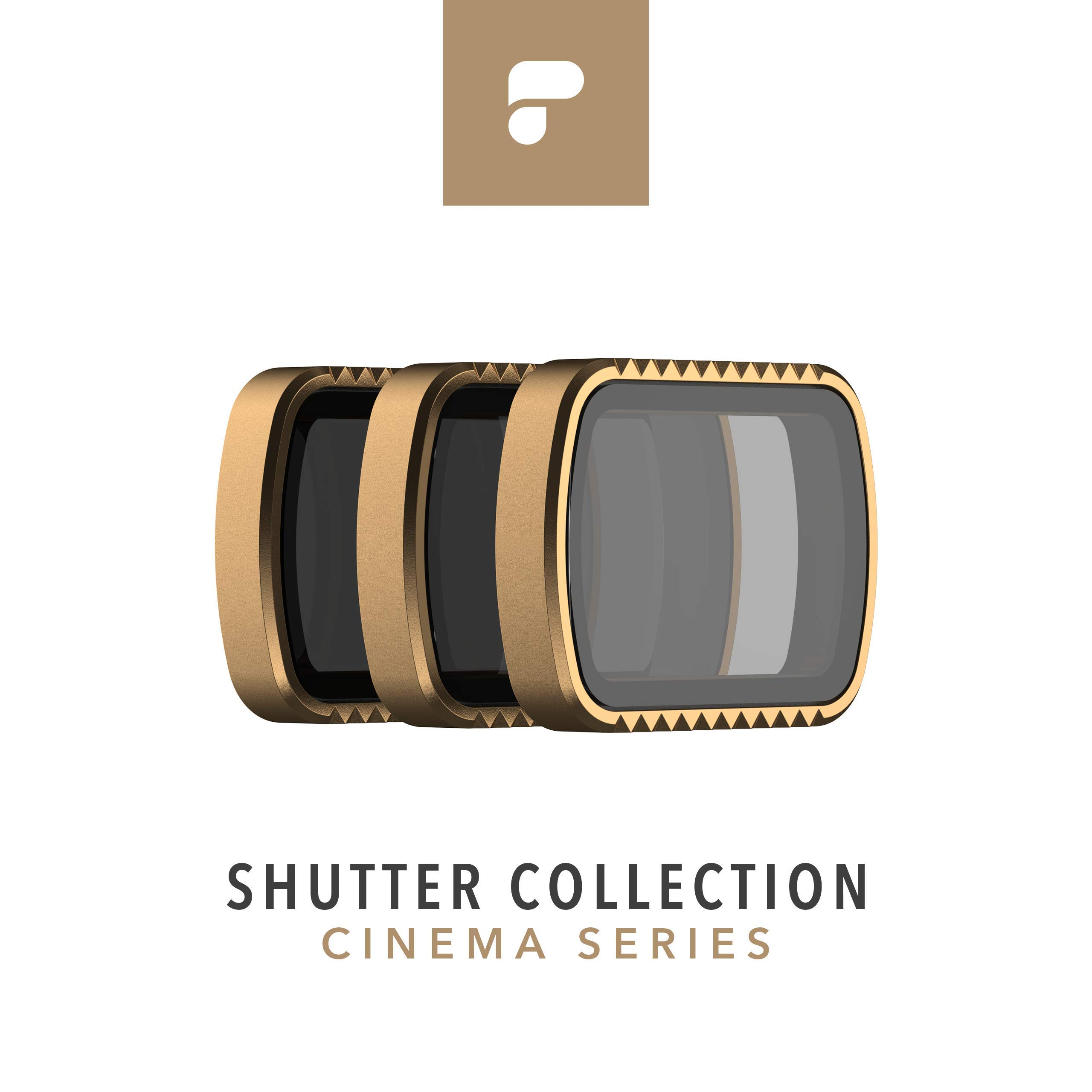 PolarPro Cinema Series Filter 3-Pack - Shutter Collection for DJI Osmo Pocket