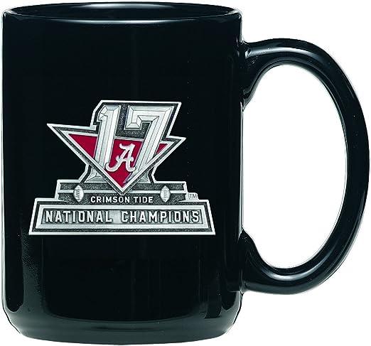 Alabama Crimson Tide 2015 National Champions Contour Mug 16oz