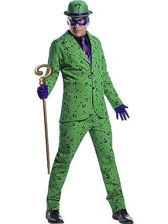 c05841f72ef3b Amazon.com  Men s Riddler Costume - XS  Clothing