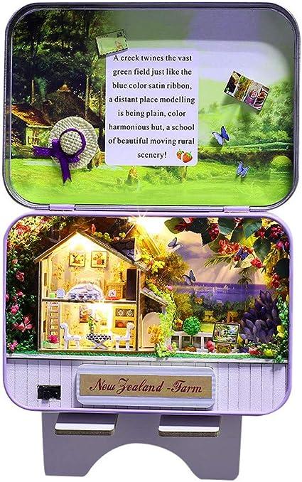 Poupée Maison de Meubles Décoration Jouets Do It Yourself Miniature Journal