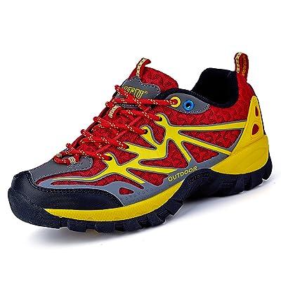YITU Women's Hiking Shoes Outdoor Trekking Sneakers Fashion Climbing Moutain Shoes | Hiking Shoes