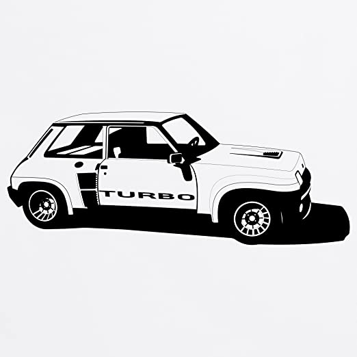 R5 Turbo High-Performance Hatchback Camiseta de bisbol, Para hombre: Amazon.es: Ropa y accesorios