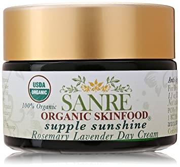 SanRe - Supple Sunshine Organic Rosemary Lavender Day Cream Age-Defying Enzyme Face Mask Bioactive 8 Berry - 1.7 oz. by Andalou Naturals (pack of 1)