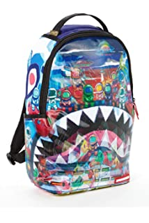 Amazon Com Sprayground Backpack Camo Mesh Shark Everything Else
