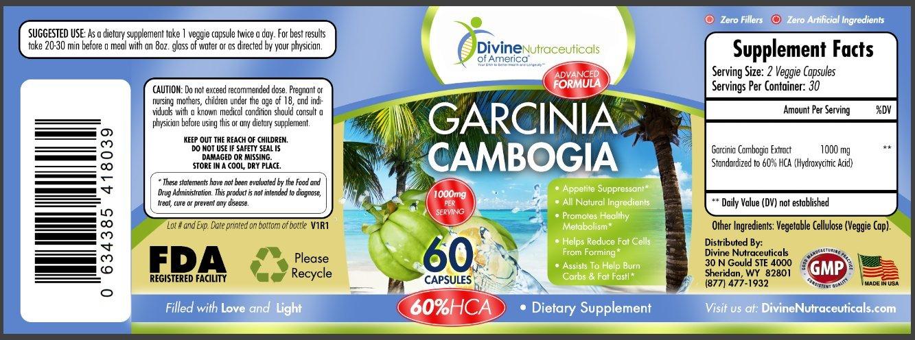 Amazon.com: Garcinia Cambogia + Probiotic 40 Billion CFU ...