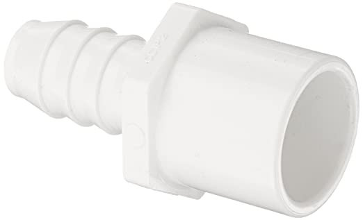 Spears 460-N Series PVC Pipe Fitting, Nesting Adapter, Schedule 40, White, 3/4