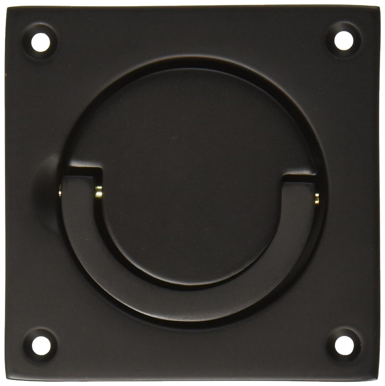 Home Improvement Baldwin 0397190 Flush Ring Pull Black Top Notch Distributors Inc.