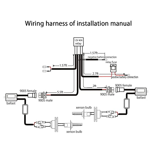 Hid Ballast Schematic - Wiring Diagrams on