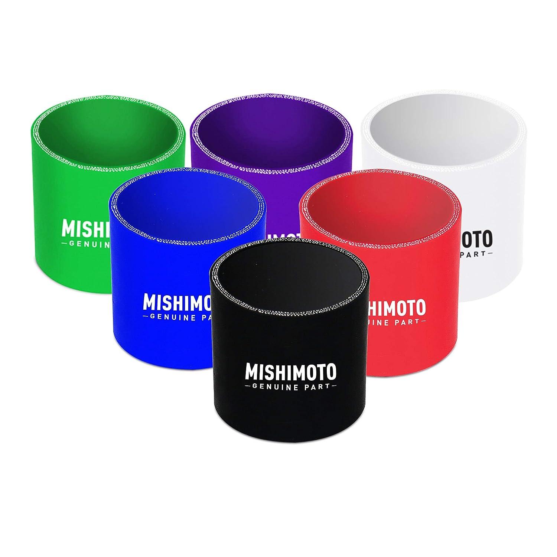 Acoplador recto de 6,35 cm color negro Mishimoto MMCP-25SBK