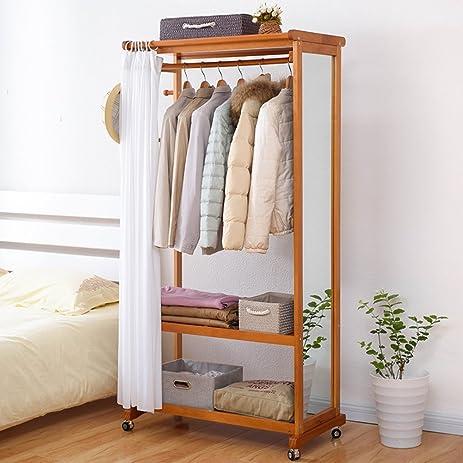 European Modern Shoe Rack Simple Framework Coat Rack Bedroom Clothes Rack  Clothes Rack Floor To Ceiling