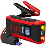 800A Peak Jump Starter with Emergency Light 4 Modes Motenik Car Jump Starter(Up to 6.5L Gas or 5.0L Diesel Engines)Auto Battery Booster Dual USB Power Bank Phone Battery Pack