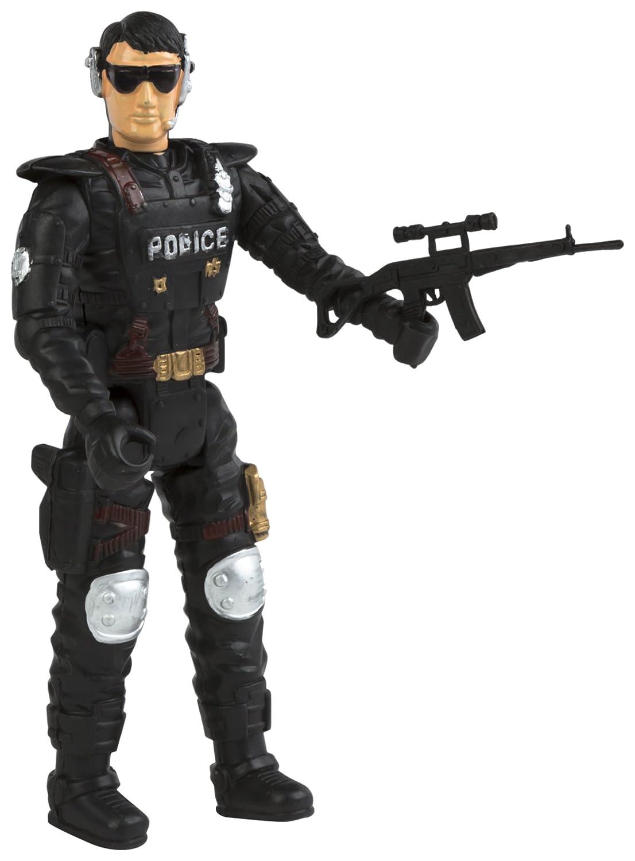 ColorBaby - Figura acción de policía en blíster, 23 cm ...