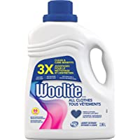 Woolite Everyday, Laundry Detergent, Mega Value Pack, 2.96 L, With Colour Renew - Clothes Look New Longer 1 Count, 66…