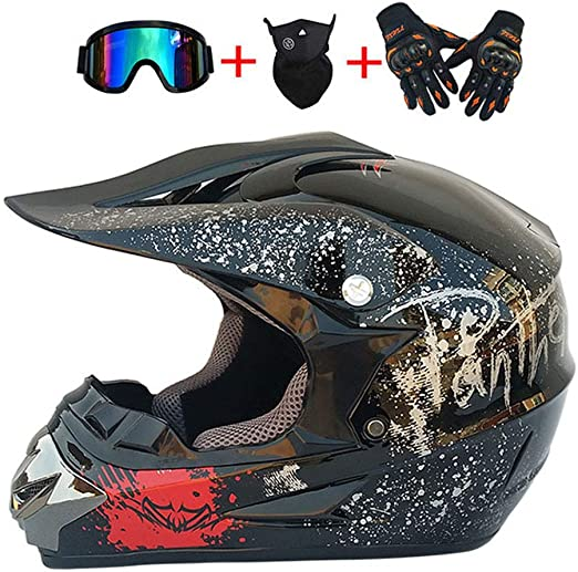 DNACC Motocross Casco Quad Off Road ATV Casco Casco Descenso ...