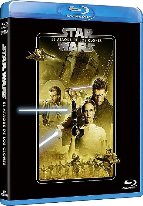 Star Wars Ep II. El ataque de los clones Edición remasterizada 2 discos película + extras Blu-ray: Amazon.es: Hayden Christensen, Natalie Portman, Ewan McGregor, George Lucas, Hayden Christensen, Natalie Portman, Rick McCallum: