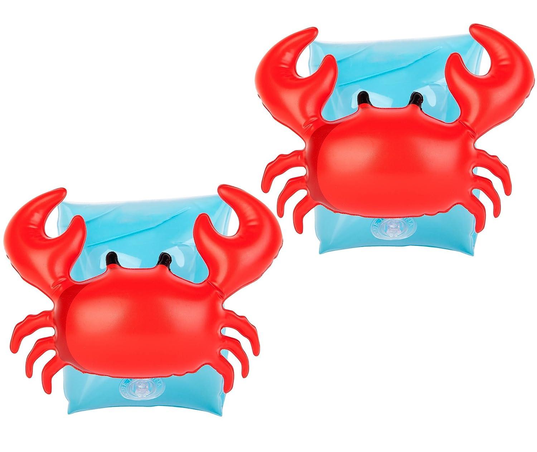 UClever Manguitos hinchables Cangrejo Natación de Seguridad ...
