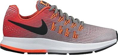 Chaussures Basses pour Homme Sneakers - Gris - Gris Clair Baskets Basses Nike Zoom Pegasus 33 Gs  Noir (TNF Black/TNF Black)  EU 40 aUHcHw