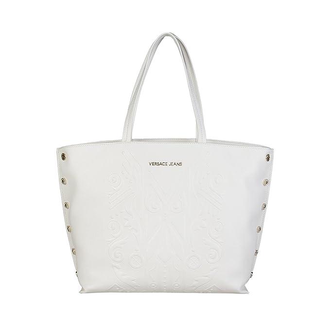 Versace Jeans E1VPBBF6 Bolso Shopper Mujer WHITE TU