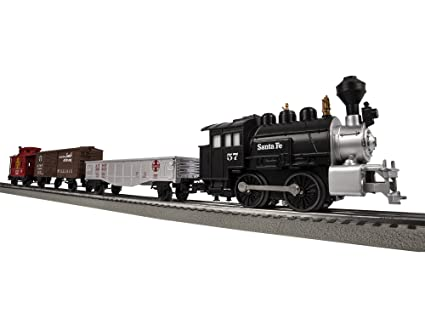 Amazon.com: Lionel Junction Santa Fe Steam Train Set   O Gauge: Toys U0026 Games