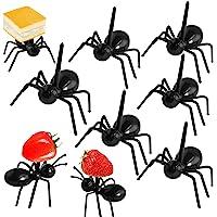 [24 unidades] horquillas reutilizables para hormigas y postres