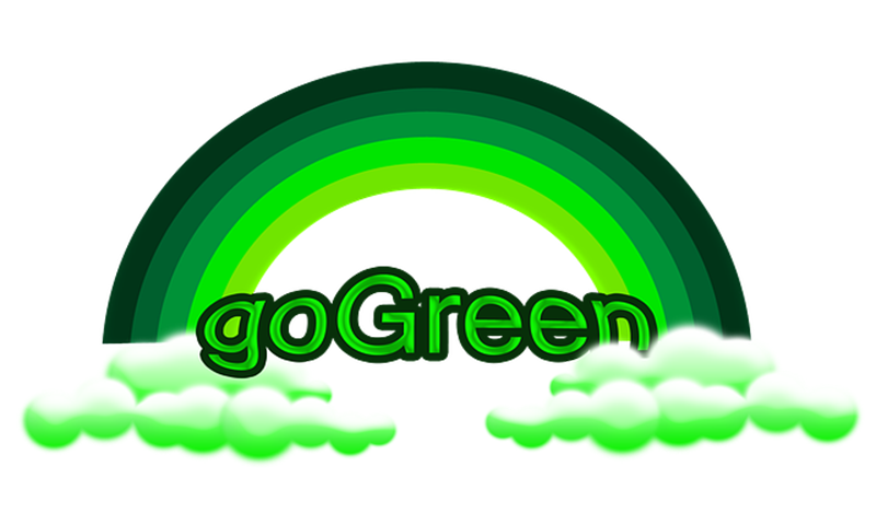 Amazon Com Go Green Think Green Act Green A
