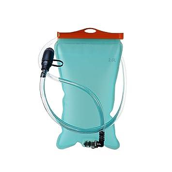ATACAMA Mochila de hidratación, Mochila para Correr, pequeña y Ligera Mochila, Compartimento para Bolsa de hidratación de 2 LTS, Ideal para Trotar, ...