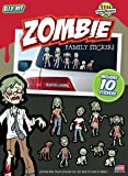 Zombie Family Stickers Kit - Includes 10 Stickers Decals