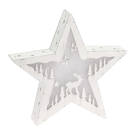 6dd4820b469 Xmas King Estrella de Madera