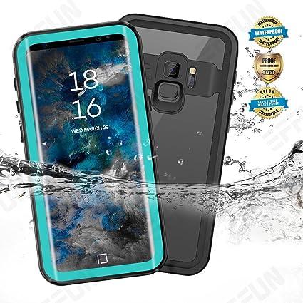 hot sale online 50500 f68f1 Samsung Galaxy S9/S9 Plus Waterproof Case, Effun IP68 Certified Waterproof  Underwater Cover Dustproof Snowproof Shockproof Case with Phone Stand, PH  ...