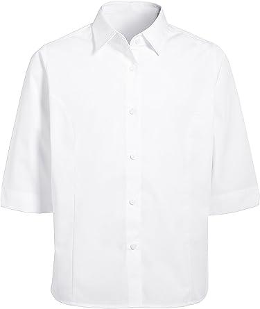 next Niñas Camisa Blusa Manga Tres Cuartos Mezcla De Algodón ...