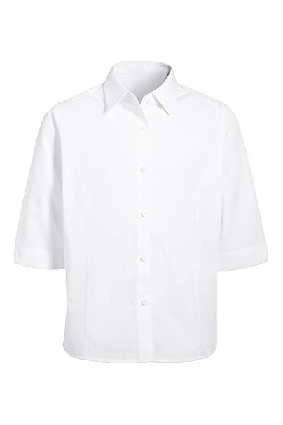 next Niñas Camisa Blusa Manga Tres Cuartos Mezcla De Algodón Casual Fashion (3-16