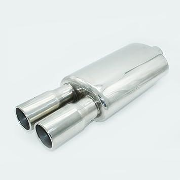 SUMEX Pan6000 Terminal De Escape INOX 58 mm con Silenciador 464 mm