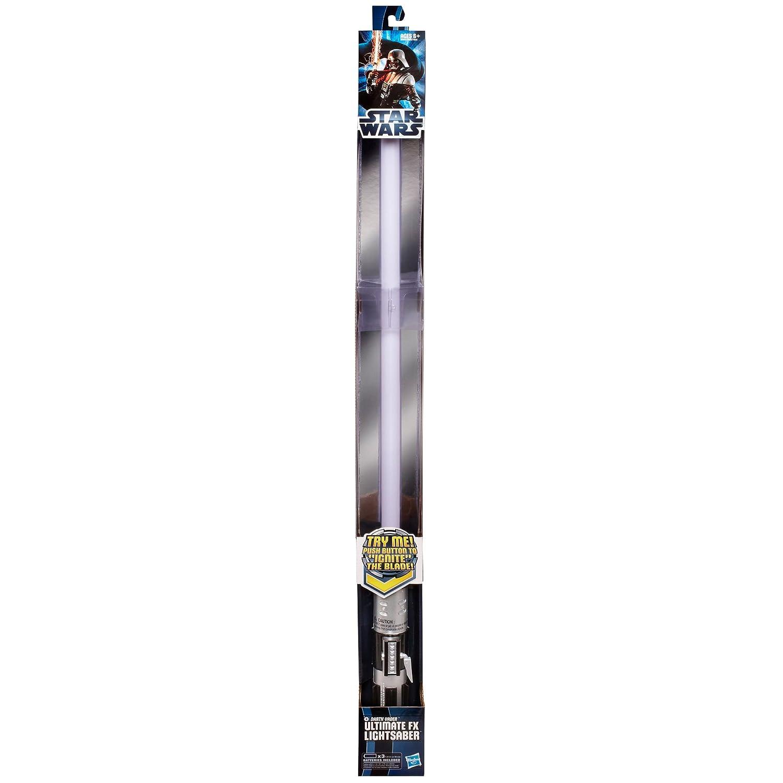 Blue Hasbro Star Wars Anakin Skywalker Ultimate FX Lightsaber Toy
