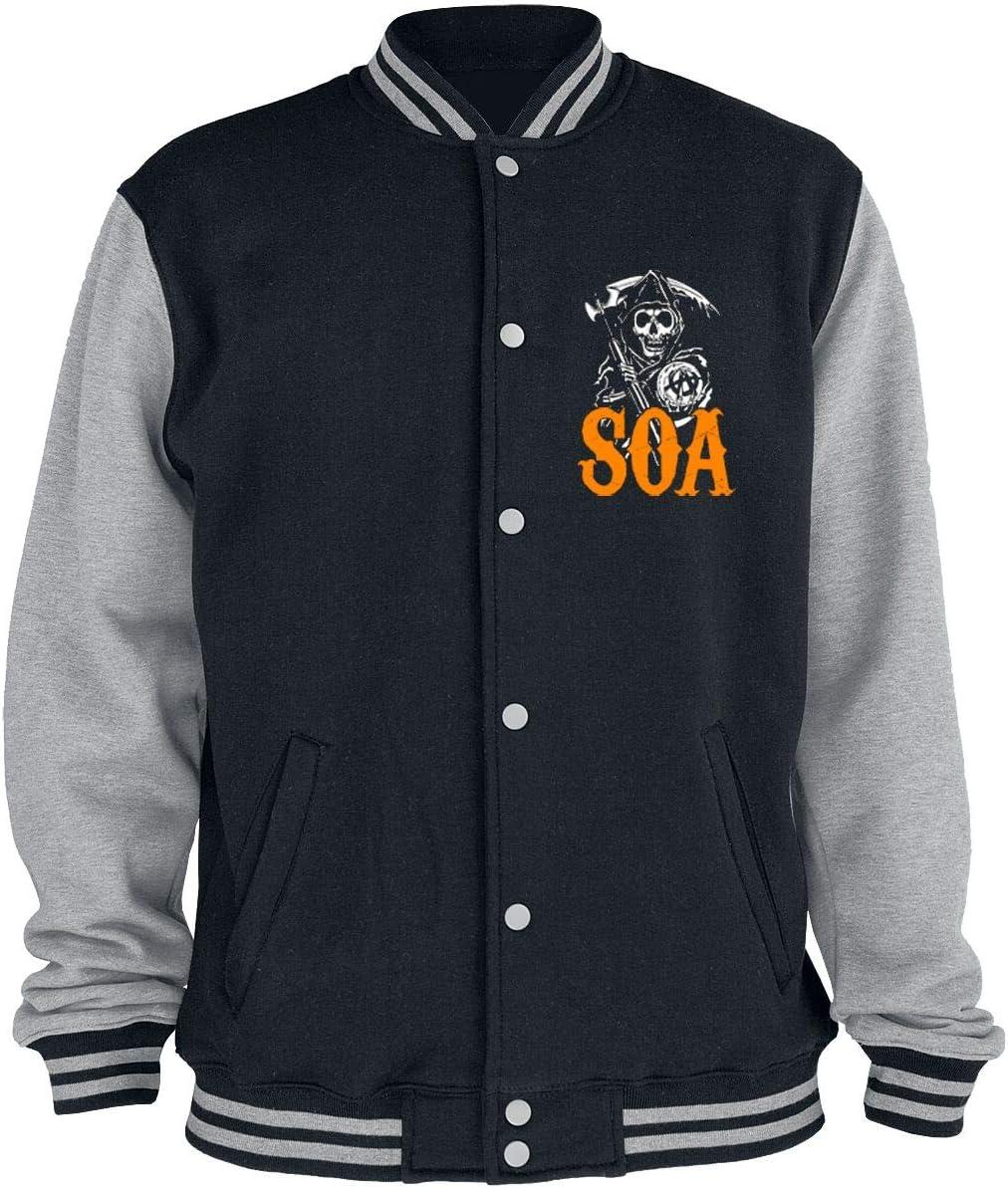 Sons of Anarchy Reaper - Orange Collegejas zwart/grijs gemêleerd