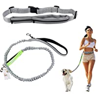 Cadrim correa para perro, correa doble, fabricada,ideal como correa de perro para correr, bicicleta, deporte, running (Correa Perros)
