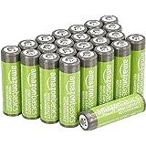 AmazonBasics AA oplaadbare batterijen met hoge capaciteit 2400 mAh (24-pack) voorgeladen