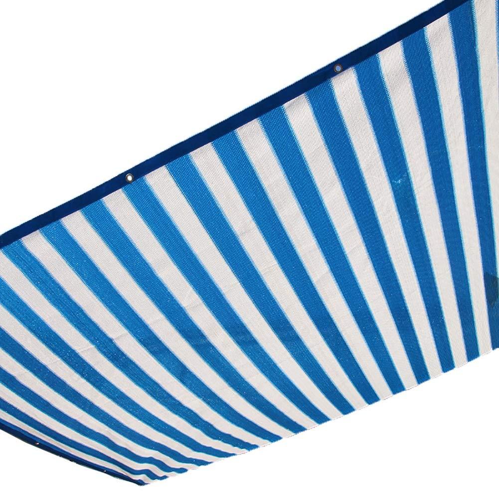ガーデンネット - 90%日焼け止めシェード布uv耐性、黄色シェーディングネット防水シートカバー用ガーデンフラワー植物 (Color : Blue, Size : 4x6m) B07SXVS2KB Blue 4x6m