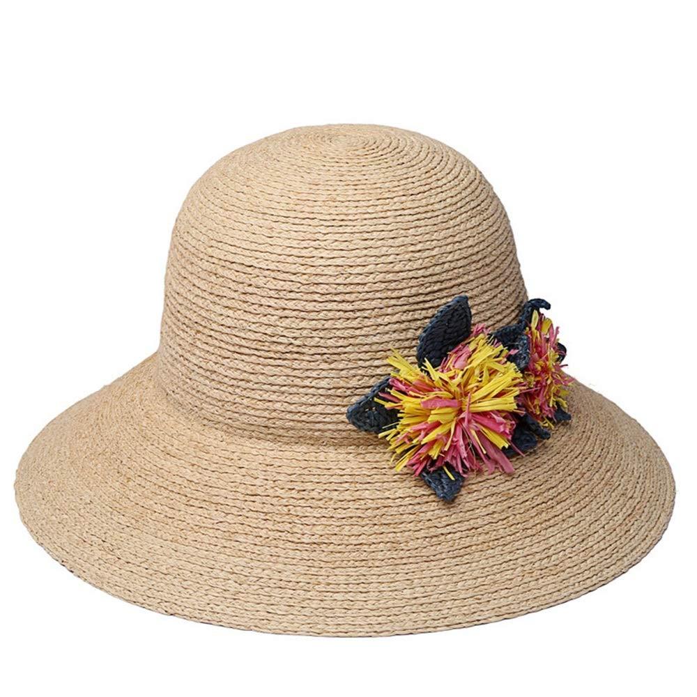 ZXioHat-ca Gorra de Playa Sombrero de Mujer de Sombrero de ...