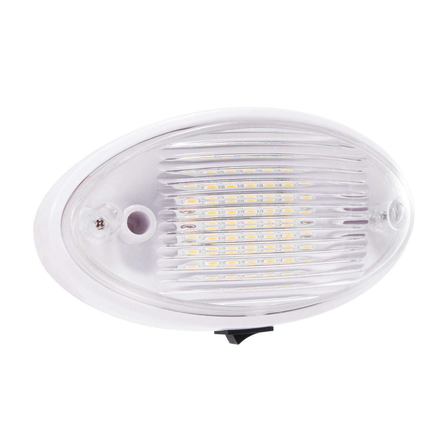 Amazon kohree led ceiling porch light fixture 12v rv interior amazon kohree led ceiling porch light fixture 12v rv interior and exterior lighting for trailercamperboat with onoff switch and removable lens arubaitofo Gallery